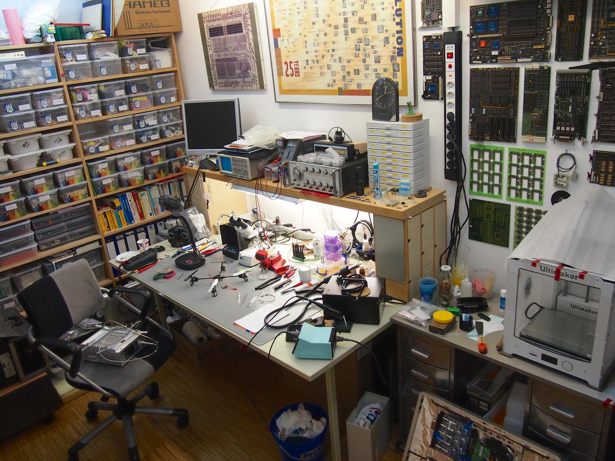 My little laboratory.